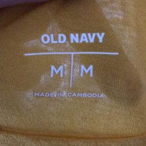 Old Navy Tops - Yellow Old Navy Cropped Halter Tank